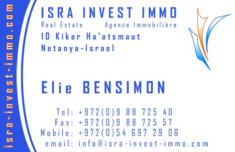 Agence immobilière à Netanya