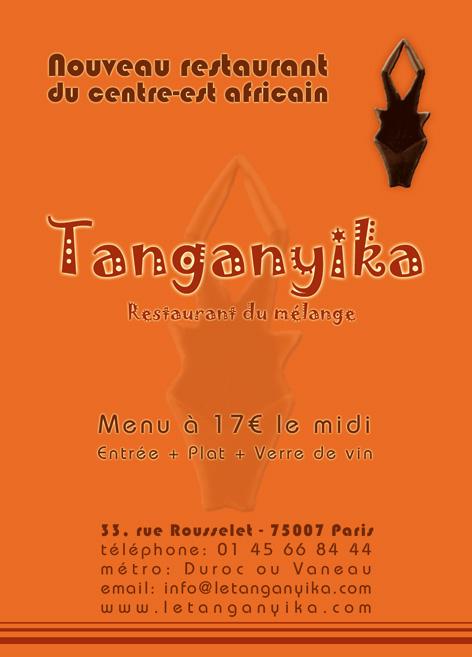 Restaurant Tanganyika